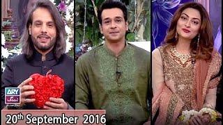 "Salam Zindagi - Guest: Nouman Javaid & Jana Malik ""Wedding Special"" - 20th September 2016"