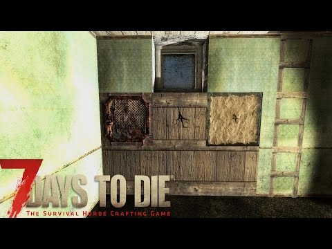7 Days to Die Tutorial - Reinforcing Your House/Walls