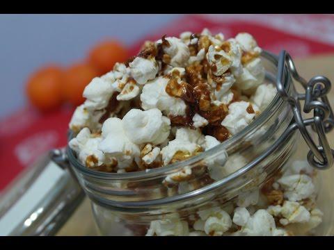 Popcorn cu caramel / Easy Homemade Popcorn Caramel