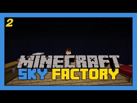 Minecraft Modded - Sky Factory #2 - Force Ingots!