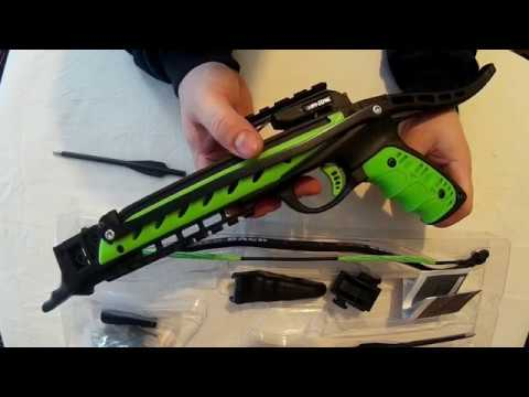 Hori-zone 80lb Redback Pistol Crossbow Unboxing