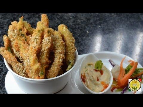 Crispy Fried Green Beans - By Vahchef @ vahrehvah.com