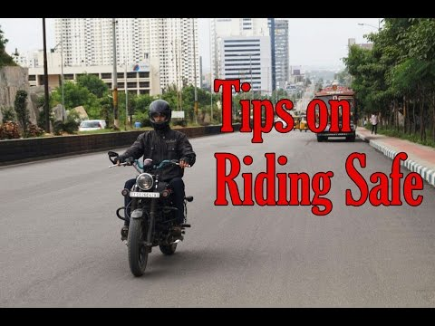 How to Ride Safe on Road