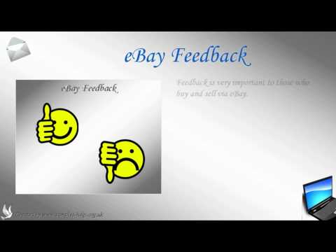 How to write an eBay Feedback Letter
