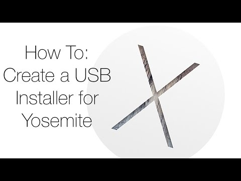 How to: Make a bootable USB for OS X Yosemite!