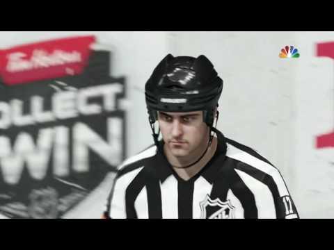 PENALTY GLITCH, Line Change, BAR DOWN! (NHL 17 Clips)