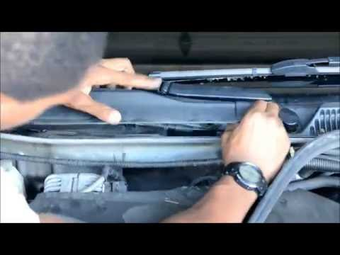 How to change Cabin Air Filter chevorlet Impala 2006-2013
