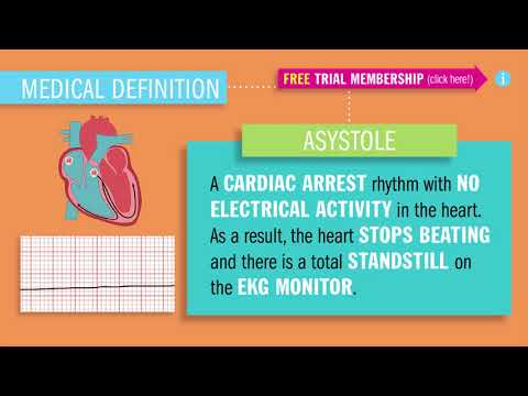Asystole by Simple Nursing