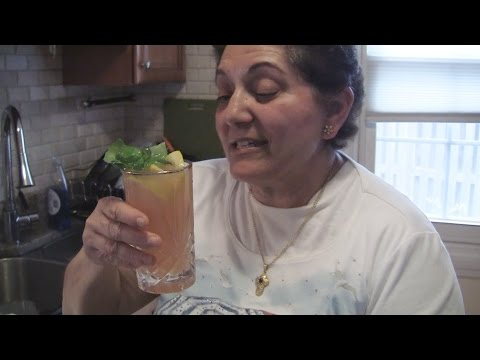 Angelo's Mom Makes Grapefruit Juice-Lemonade