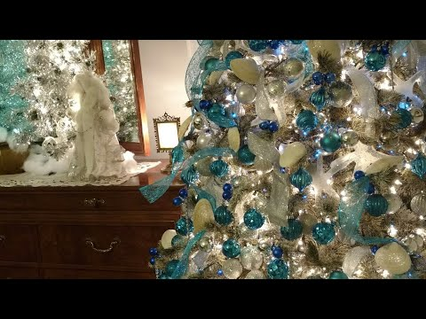 Christmas 2017- Nautical inspired Christmas Tree And Room Decor- Part 6 in series 2017