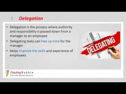 VCE Business Management - Skills part 1