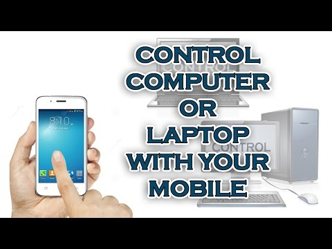 How to control computer with your mobile 2016