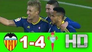 Resumen Valencia vs Celta (1-4) Todos los Goles ★ Copa Del Rey 03/01/17 HD
