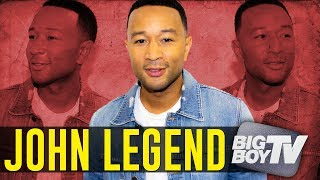 """John Legend on Being The """"Sexiest Man Alive"""", How Chrissy Teigen Makes Him Better + More"""