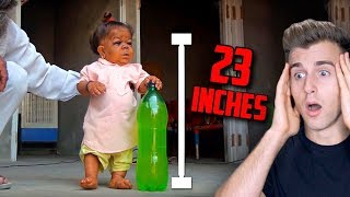 MEET THE MAN ONLY 23 INCHES TALL (*Shortest Human Alive*)