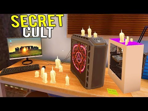 SECRET CULT NEEDS THEIR COMPUTER REPAIRED? - PC Building Simulator Release Gameplay