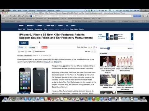 Apple iPhone 5S / 6 Rumours Double Pixel Screen and Cheaper iPhone?