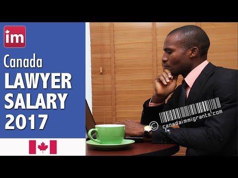 Lawyer Salary in Canada | Jobs in Canada (2017)