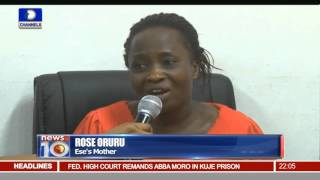 News@10: Police Reunite Ese With Mother After Medicals 02/03/16  Pt.1