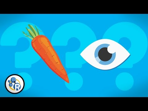 Do Carrots Help You See Better?