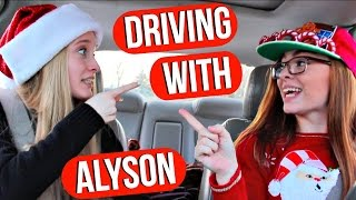 Driving With Alyson: Christmas Edition