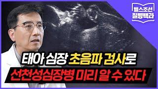 [선천성심장병] 출생전 '태아 심장 초음파 검사'로 철저히 대비한다