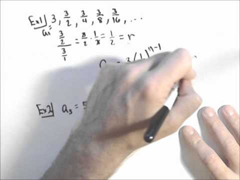 Finding the General Term of a Geometric Sequence