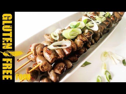 Vietnamese grilled chicken hearts - gluten free recipe