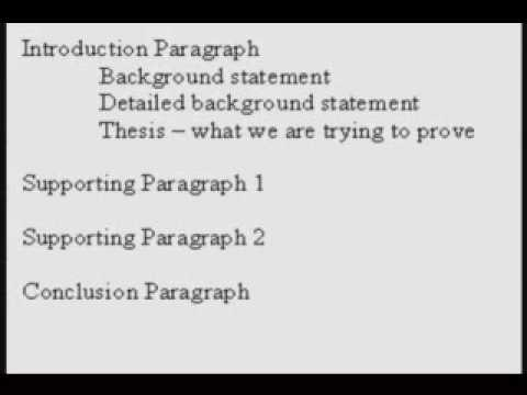 IELTS How to write an argument essay outline (part 1 of 2)