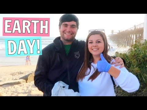 Couples Beach Date! Beach Clean Up on Earth Day!