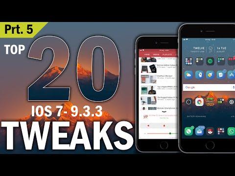 Top 20 iOS 9.3.3 Cydia Tweaks (August 2016) Prt 5