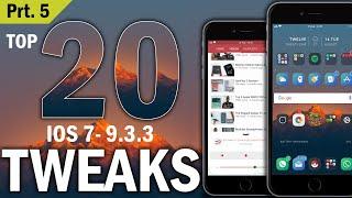 NEW! Top 100 FREE iOS 9 3 3 Cydia Tweaks Of ALL TIME - iOS 9