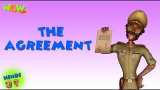 The Agreement - Motu Patlu in Hindi - 3D Animation Cartoon for Kids -As on Nickelodeon