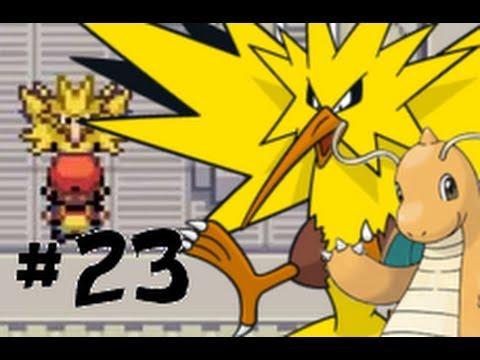 Let's Play Pokémon Leaf Green Part 23 : Zapdos and Dragonite