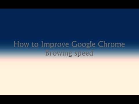 How to Improve Chrome & Firefox Browsing Speed