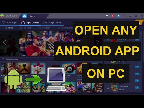 How to Open any Android Apps on Pc With Bluestacks