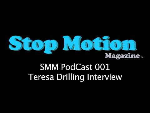 Stop Motion PodCast 001 - (Animator) Teresa Drilling