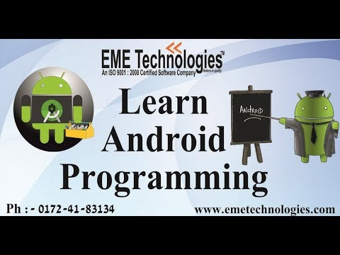 Learn Android Programming  In Hindi | EME Technologies