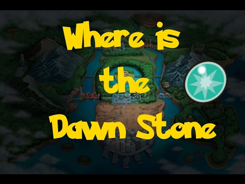 Where Is: The Dawn Stone (Location 1) (Pokemon Black 2/White 2)