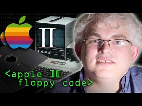 Apple 2 Floppy Disk Codes - Computerphile