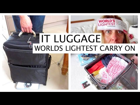 WORLDS LIGHTEST CARRY ON CABIN BAG - LUGGAGE REVIEW   |   twoplustwocrew