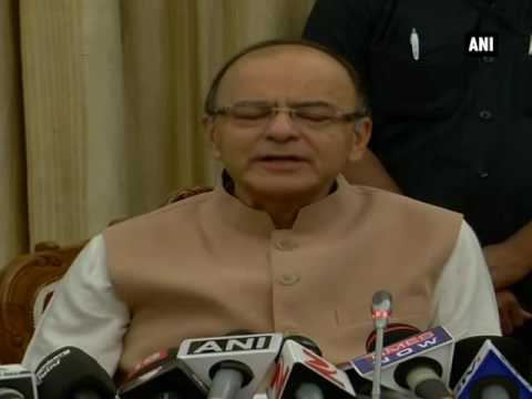 Tax exemption limit under GST will be Rs 20 lakh: Arun Jaitley - ANI News