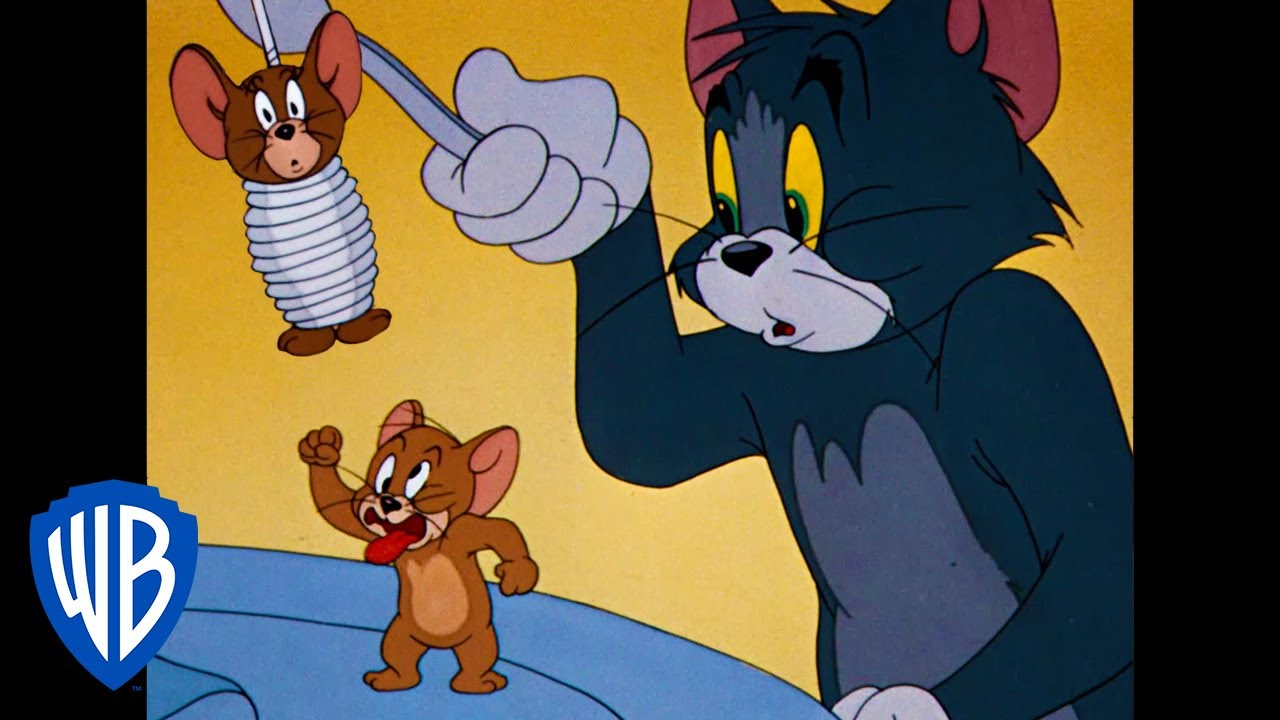 Tom & Jerry   A Day With Tom & Jerry   Classic Cartoon Compilation   WB Kids