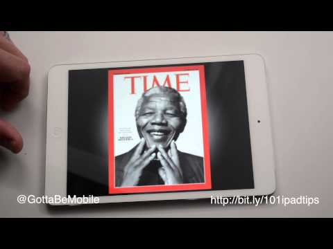 How to Read Magazines on IPad