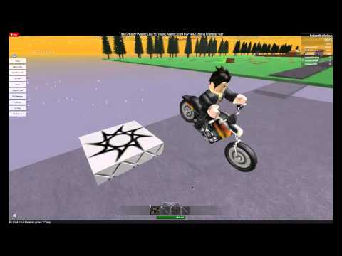 Why you should not ride a motorcycle! Roblox!