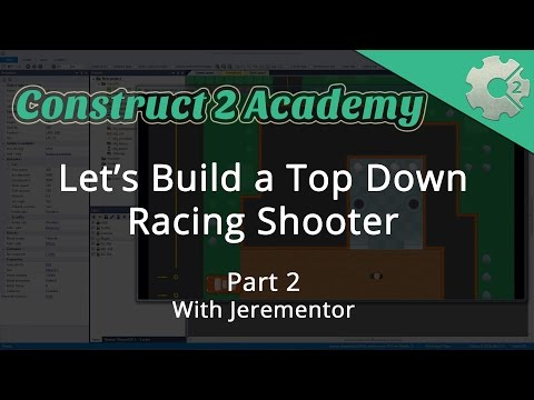 Let's Build a Top Down Racing Shooter Game Part 2 - with Jerementor