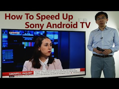 How To Speed Up Slow Sony Android TV & Disable Samba Interactive