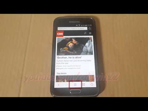 How to Add Bookmarks in UC Browser For Android