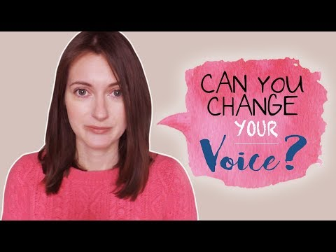 Can you change your voice?