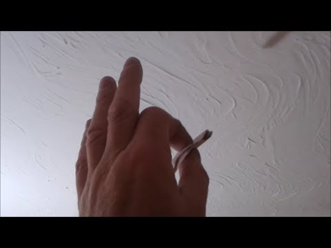 Before Painting New Artex  Ceilings And Walls Top Tip